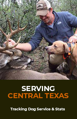 El Cazador | Central Texas Blood Tracking Dogs for Finding Wounded Deer